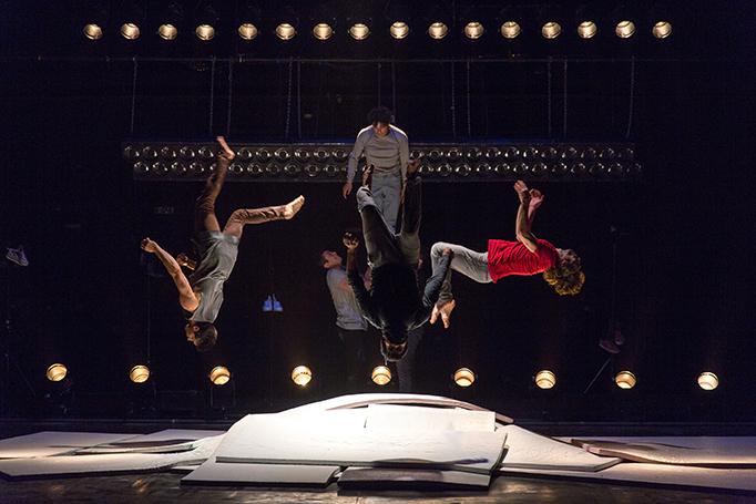 """1-2 et 3 mars 2017                          Au théâtre de la Foudre à Petit Quevilly, répétitions et filages de """"Somos"""", création de la compagnie El Nucleo.                   © Sylvain Frappat"""